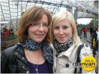 ich (links) meine b. Freundin Ariane (rechts)