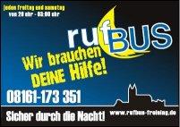 Der Rufbus fährt wieder!