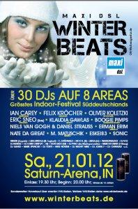 2x2 Freikarten für Winter Beats 2012